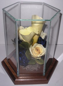 The mother's preserved corsage
