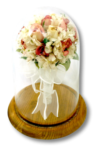 Preserve you wedding memories in a beautiful encasement display.