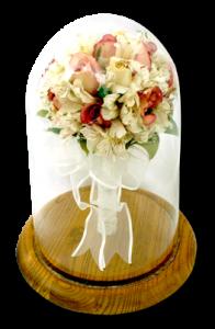 Preserve you wedding memories in a beautiful encasement display.