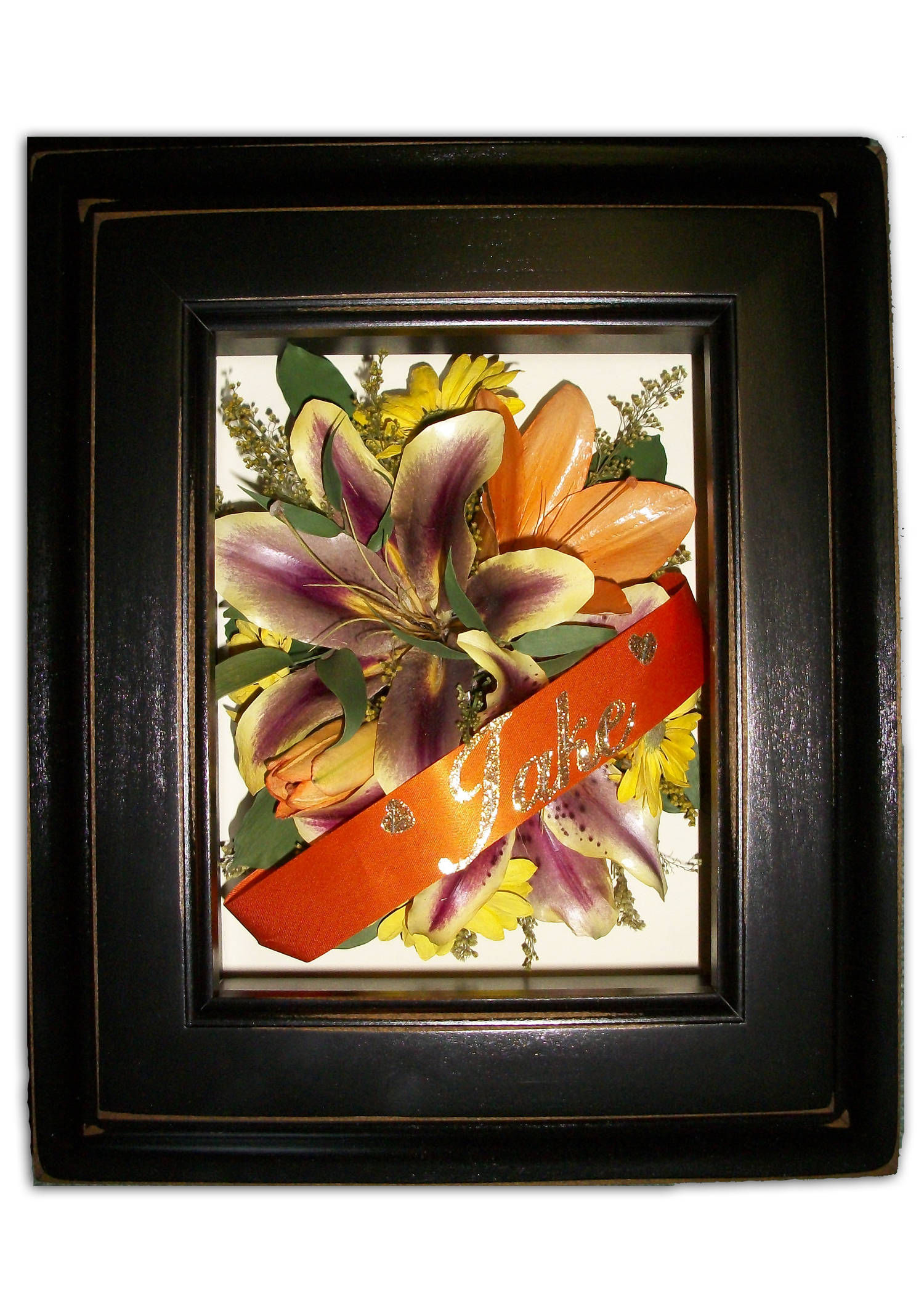 Funeral flowers preservation suspended in time 5x7 funerl jade shadowbox izmirmasajfo