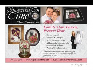 Utah Valley Bride 2013 Magazine Ad Campaign