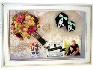 Bridal Bouquet Preservation Keepsake